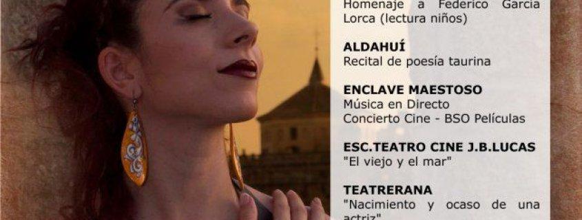 """Concierto en el I Festival Nacional de Teatro Ciudad de Talavera """"Marisa Esteban"""""""