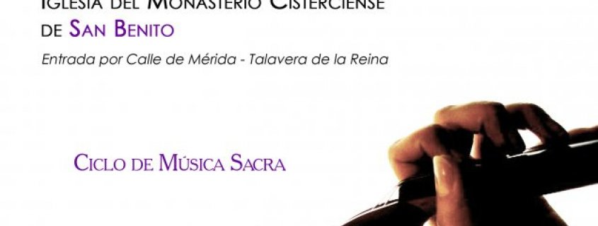 Concierto de EnClave Maestoso dentro del Ciclo de Música Sacra 2015 en Talavera