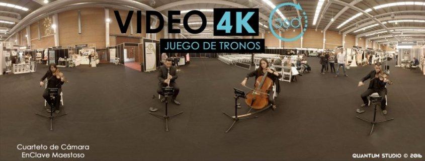 Juego de Tronos Tema Principal en 360º 4k - EnClave Maestoso y Quantum Studio