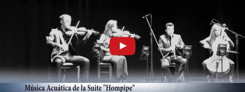 """Música Acuática de la Suite """"Hornpipe"""" de G.F. Haendel - Cuarteto EnClave Maestoso"""