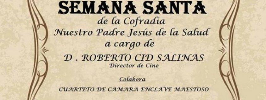 V Magno Pregón de Semana Santa Cofradía Jesús de la Salud Talavera