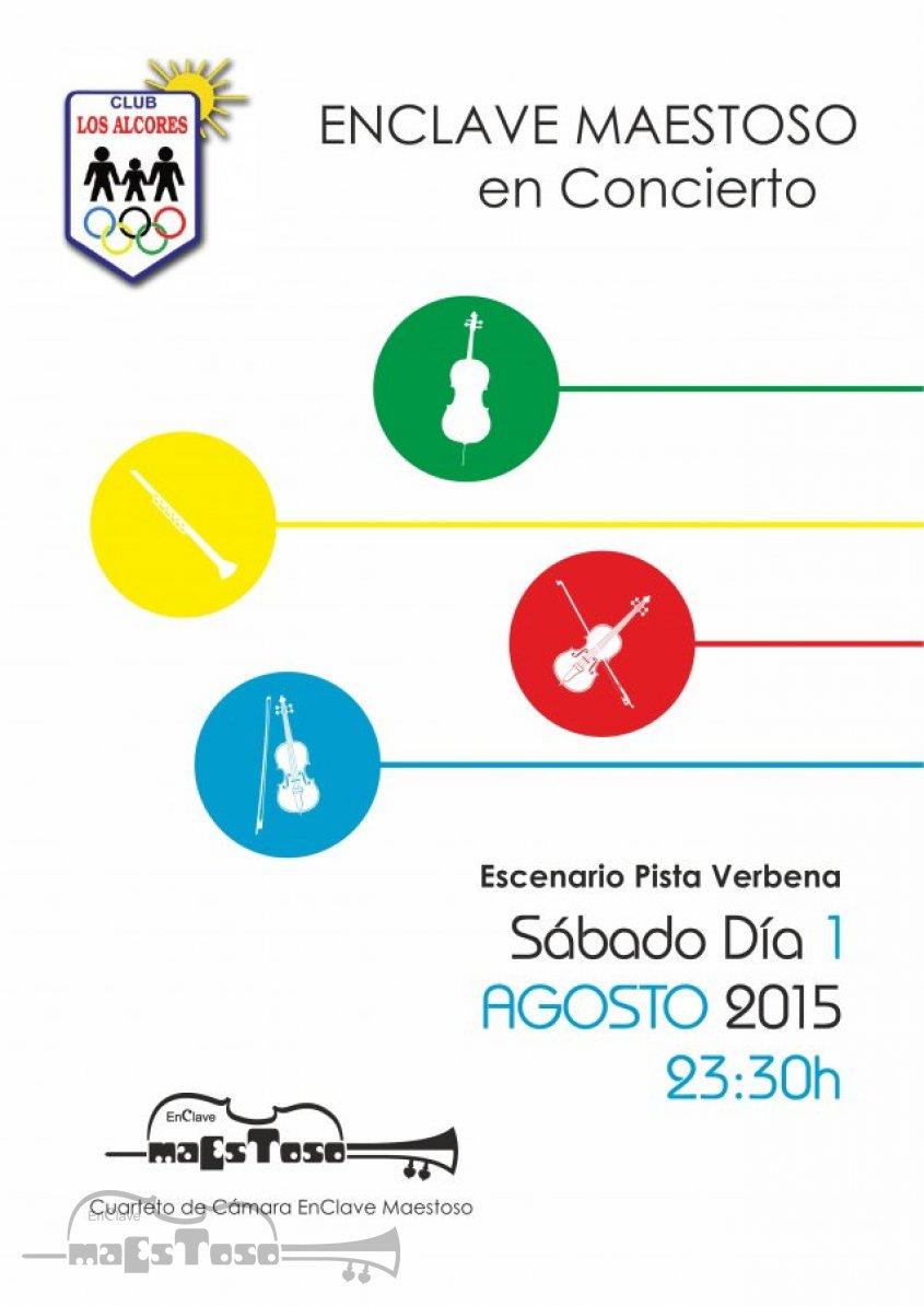 Concierto de EnClave Maestoso en Club Social Los Alcores - Agosto 2015