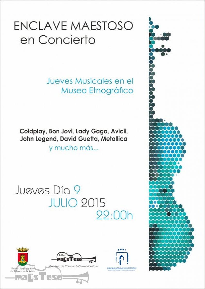 Concierto de EnClave Maestoso en el Museo Etnográfico - La Clásica Música Moderna