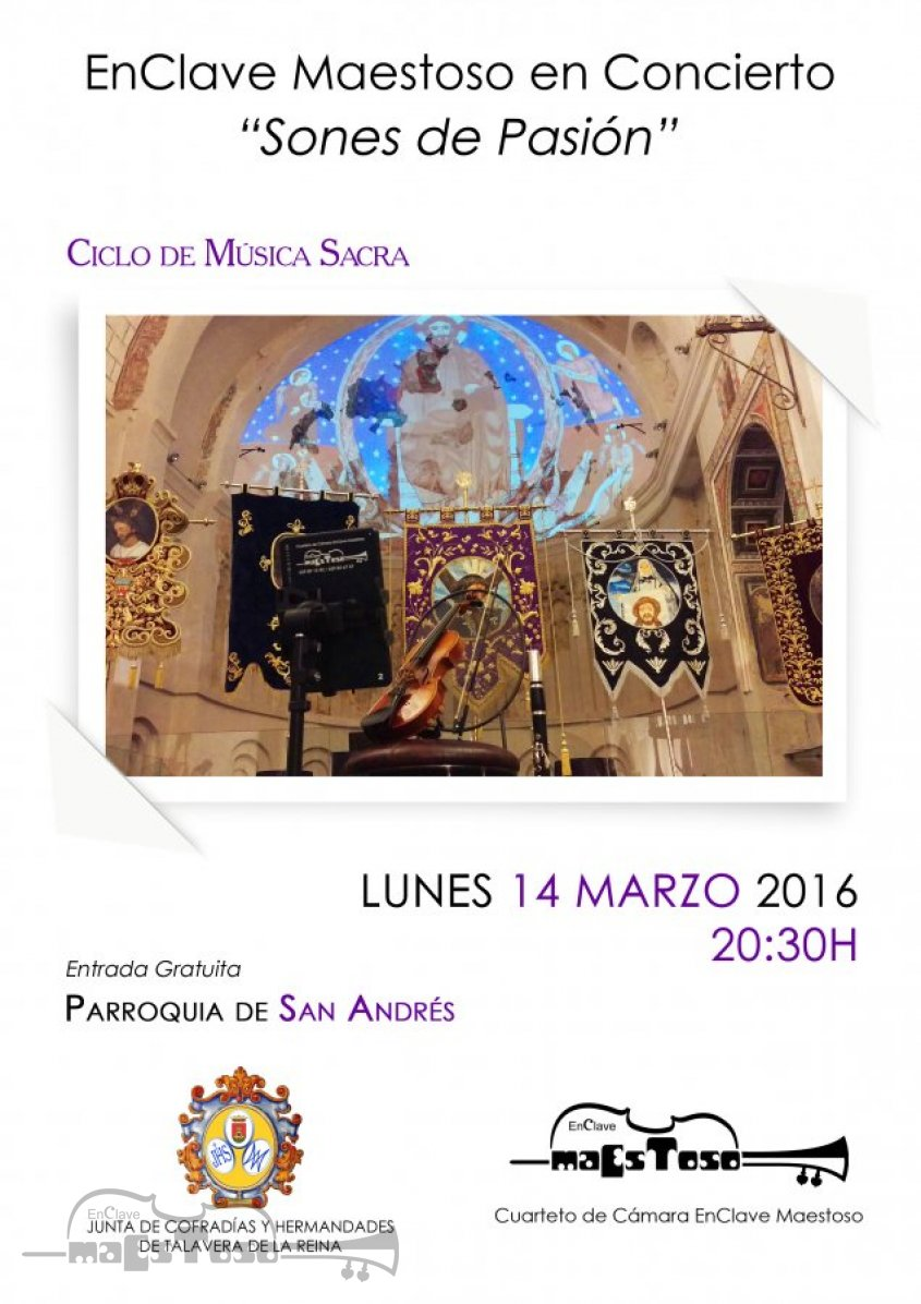 Concierto de EnClave Maestoso Parroquia de San Andrés - Ciclo de Música Sacra 2016