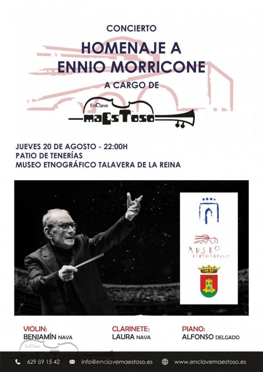 Concierto Homenaje Ennio Morricone por EnClave Maestoso Museo Etnográfico Talavera