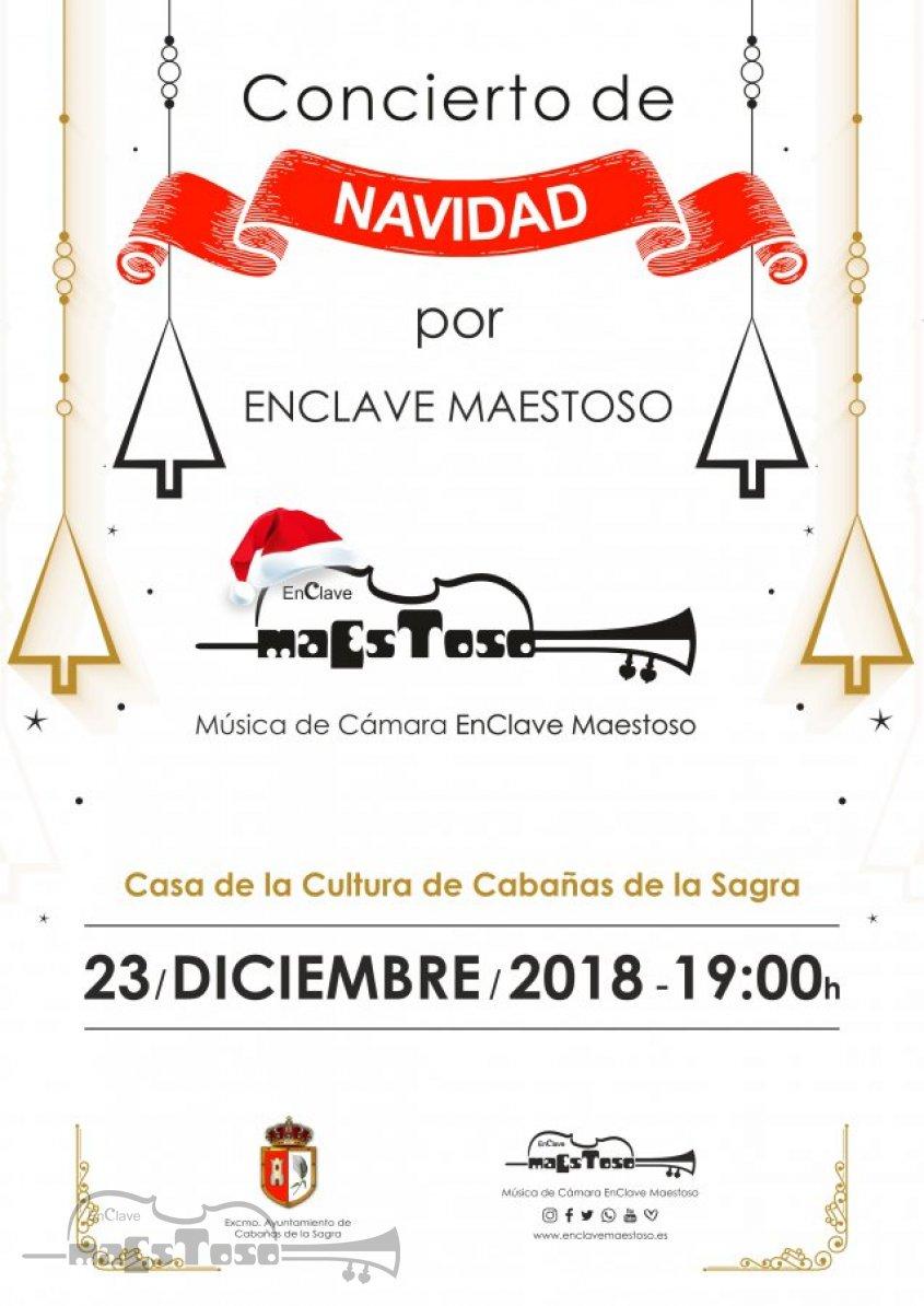 Concierto de Navidad 2018 Casa de la Cultura Cabañas de la Sagra por EnClave Maestoso