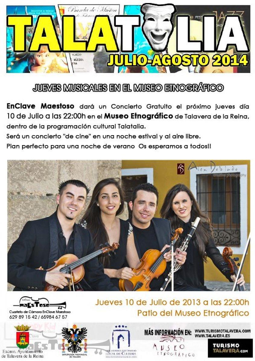 Estreno de los Jueves Musicales en el Museo Etnográfico por EnClave