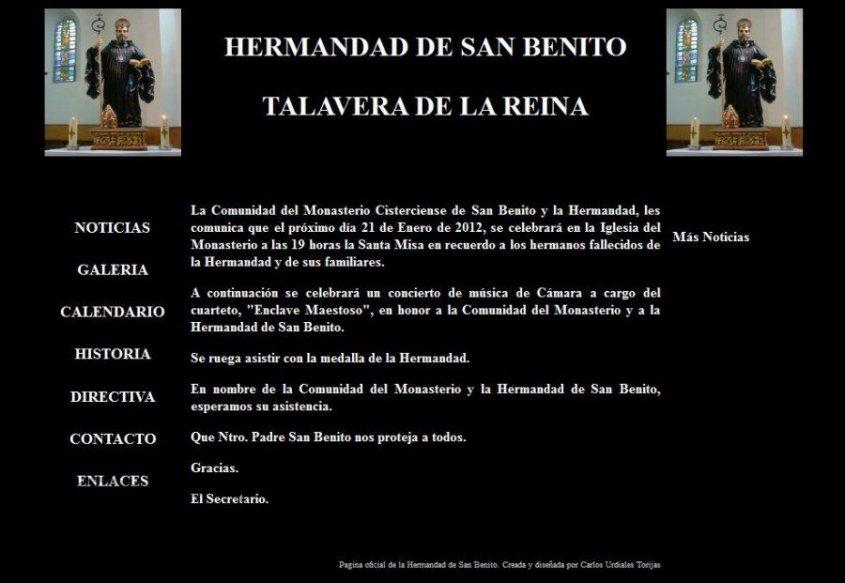 Concierto en Honor a la Hermandad de San Benito