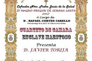 IV Magno Pregón de Semana Santa - Cofradía Ntro Padre Jesús de la Salud