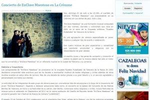 Concierto EnClave Maestoso en La Crèmme