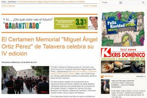 El Certamen Memorial Miguel Ángel Ortiz Pérez de Talavera Celebra su IV Edición