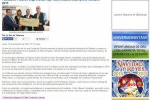 Fundación Futurart elige a Cruz Roja Talavera para su proyecto solidario 2015