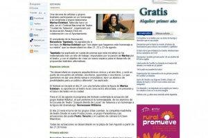 Homenaje en Talavera a Marisa Esteban un año después de su muerte