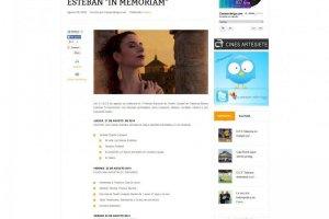 """I Festival Nacional de Teatro Ciudad de Talavera-Marisa Esteban """"In Memoriam"""""""