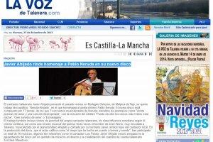 Javier Ahijado Rinde Homenaje a Pablo Neruda en su Nuevo Disco